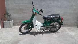 Vendo moto honda verde