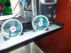 Controlador RGB + 2 Fans RGB + FAN no RGB Cooler Master Master FAN 120AB