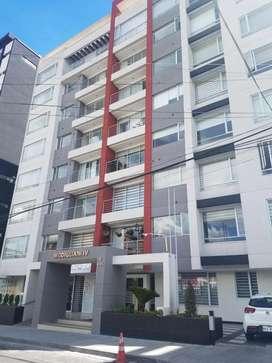 Departamento Moderno de arriendo, alquiler 2 dormitorios y estudio Sector Quicentro - Centro Norte de Quito