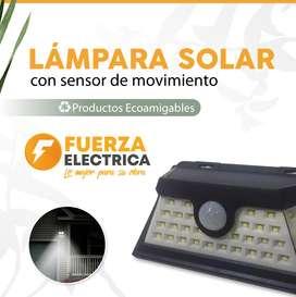 lámpara solar para exteriores  18 w