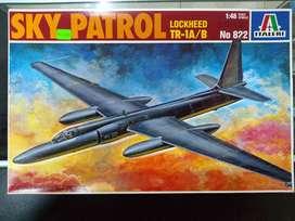1/48 Avion U 2 Tr 1a Sky Patrol Tanque Mirage Barco Mig Mil