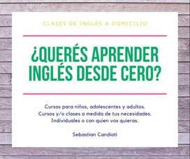 ¿Querés aprender inglés desde cero?
