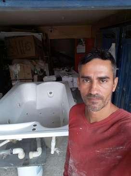 Restauración Jacuzzi Bañeras Piscinas Turcos Toboganes Tanques Reparación Mantenimiento y Pintura Fibra Vidrio
