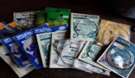 LOTE 21 paquetes de anzuelos varios tamaños nuevos