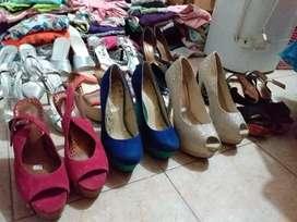 Vendo zapatos y sandalias