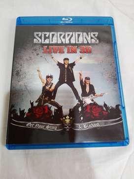 Bluray Scorpions Live in 3D Nuevo