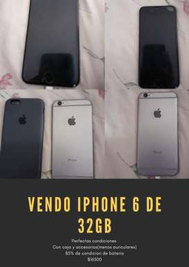 Vendo iphone 6 32gb