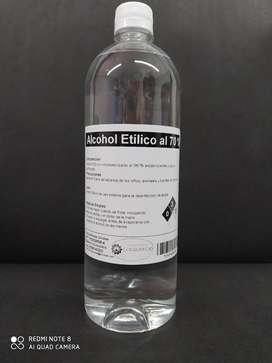Alcohol Etílico al 70