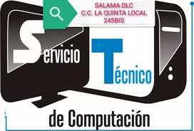 SERVICIOS TÉCNICOS PARA COMPUTADORES Y PORTÁTILES