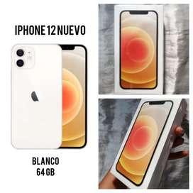 IPhone 12 NUEVO de USA Color Blanco 64 gb