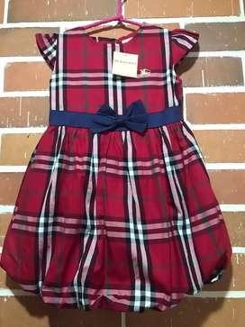 Vestido burberry Talla 3t