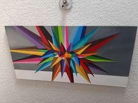 Hermoso cuadro pop geometrico