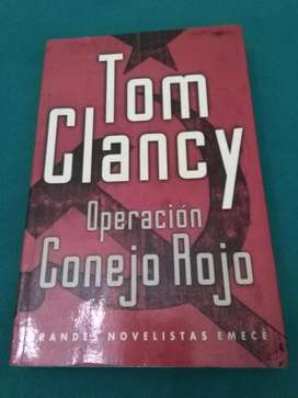 OPERACION CONEJO ROJO . TOM CLANCY . LIBRO NOVELA EMECE