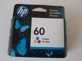 Cartucho de color impresora HP # 60
