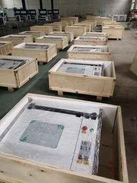 Máquina de corte laser de CO2 de 60w, área de trabajo de 40*40