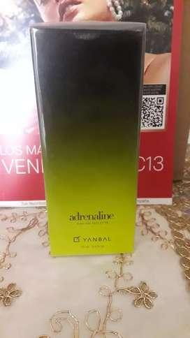 Perfume adrenaline para hombre yanbal