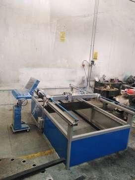 Fabricacion de mesas de corte por plasma y ruteadora cnc