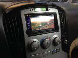 HIUNDAY H1 SANTA FE TUCSON ESTEREO CENTRAL MULTIMEDIA STEREO CON GPS ANDROID BLUETOOTH DOBLE DIN SD USB