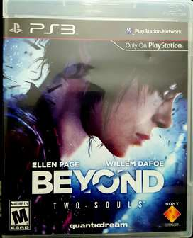 "Juego Original para PlayStation 3: ""Beyond Two Souls"""