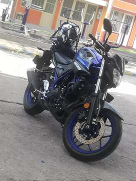 Espectacular Yamaha MT 03