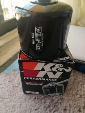 Se vende filtro de aceite K&N nuevo original