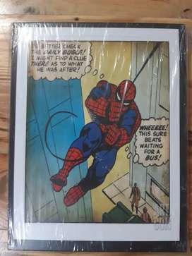 Cuadros spider man, hombre araña tamaño 20cm x 26cm