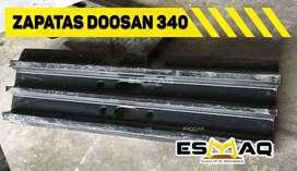 84 zapatas para Excavadora Doosan 340 originales totalmente nuevas