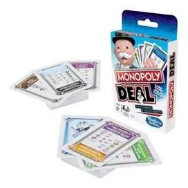 Monopoly Deal Juego De Cartas Hasbro E3113 Nuevo Original