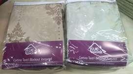 Juego de cortinas black out textiles