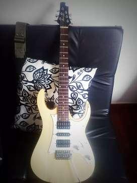 Guitarra eléctrica vorson 6 cuerdas