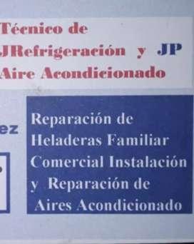 reparacion y coneccion de Aires acondicionado