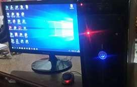 """Computadora cpu y monitor de 19"""""""