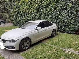 Vendo BMW 320i, blanco, secuencial, 43000 km. Perfecto estado.