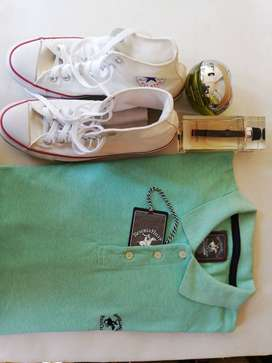 REMATO Perfumes, camisa Polo y Converse All Star