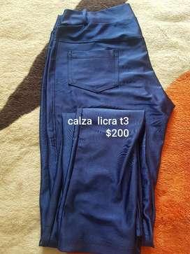 Calza T3 brillosa