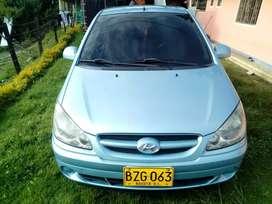 Hyundai Getz todos los documentos al día ful equipo tiene 87000 kilómetros originales poco uso carro familiar
