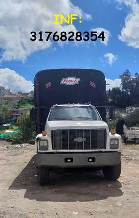 Vendo Camion Chevrolet Kodiak Mod. 1994, artillero, Llantas media vida