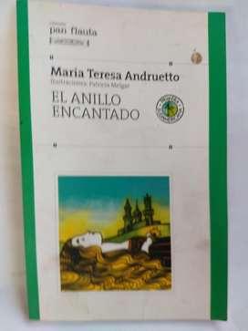 El Anillo Encantado - María Teresa Andruetto Pan Flauta