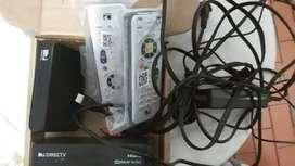 Duo decodificadores satelitales de DirecTV prepago