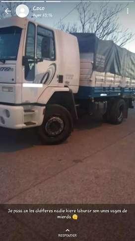 Vendo ford cargo 1722e mod 2011 y acoplado montenegro mod 77