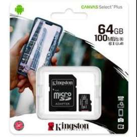 MICRO SDCS2/64GB 100MB/s KINGSTON ORIGINAL
