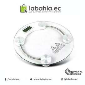 Balanza Corporal Bascula Baño Digital Vidrio Templado 150kg