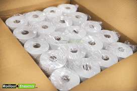 Fabricante Rollo Térmico 80mmx60mts Caja X 60 Unidades