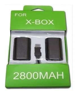 Kit Carga Y Juega para Control Xbox One Pila Bateria Y Cable