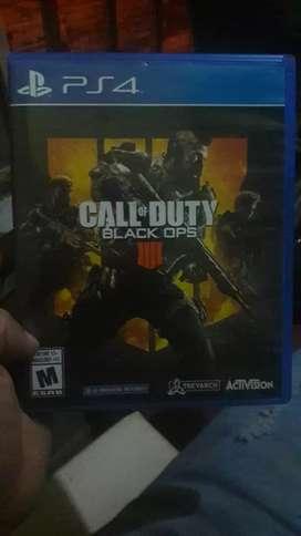 Vendo o intercanbio juego ps4 call of duty black ops
