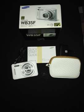Cámara Smart Samsung WB35F con NFC/WiFi de 16.2 Mp, Nuevo en caja