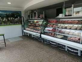 Vendo Expendio de Carnes Finas Exelente