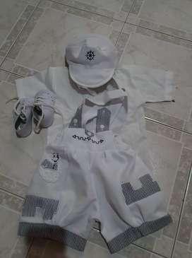 Vestido de  Bautizó para niño