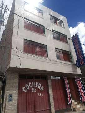 Se vende Hotel en Huallay