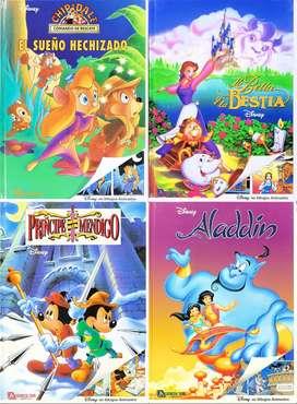 FIESTA DISNEY, Chip y Dale, La Bella y la Bestia, Mickey y Aladin